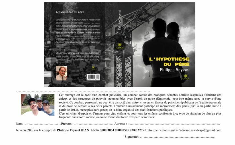 L'Hypothèse du père, livre à paraître